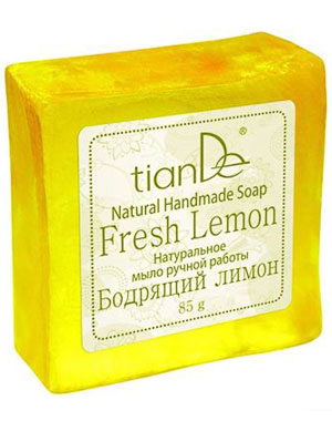 "Натурален сапун ""Fresh Lemon"""